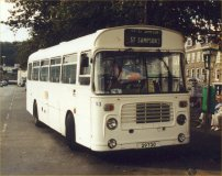 OJD94R in allover white livery with Guernseybus