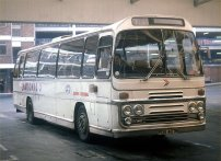 PDV407M in National white coach livery