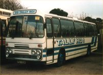 PDV412M in Tally Ho! livery