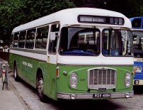 RDV419H in NBC green and white dual-purpose livery
