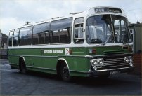 SFJ130R in NBC green and white DP livery