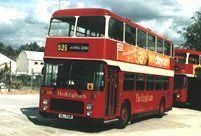 SNJ591R in revised Hedingham & District livery