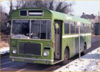 THU347G in NBC green livery