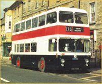 UBD757H in Wellingborough commemorative livery