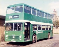 UBD757H in NBC green livery