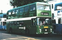 UWV619S in NBC green livery