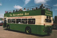 UWV622S in Borrowdale Bus livery with Cumberland