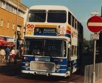 UWV623S in Eastbourne & District version of Stagecoach livery