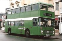 UWV623S in NBC green livery