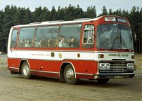 VAB839R with Coombe Hill Coaches