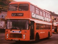 VHB679S in NBC red livery