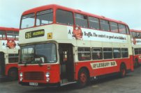 VVV951W in Luton & District livery with Aylesbury Bus fleetnames