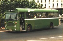WAE187T in NBC green livery with Bristol fleetnames