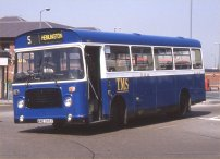 WAE295T in Teeside Motor Services livery