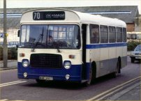 WAE295T in Trimdon Motor Services livery