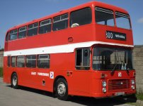 WKH526X restored in NBC red livery